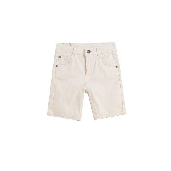 Boutique en ligne 2fb33 72d3c Pantalón corto vaquero beige niño 2-7 años